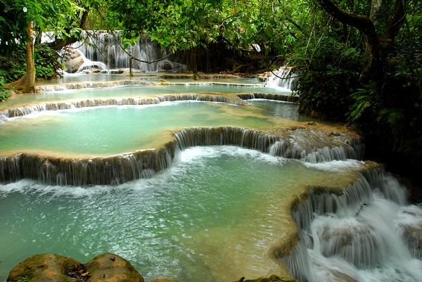 Khuang Si Waterfalls