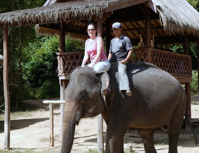 LUANG PRABANG | Elephant Trekking