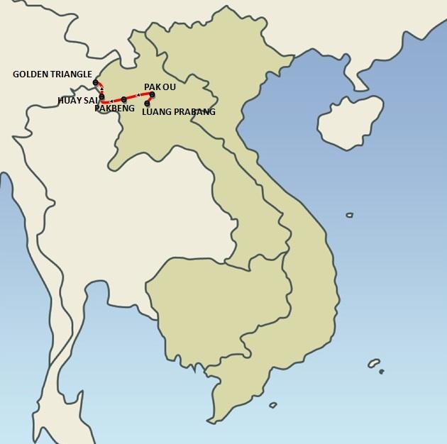 LUANG PRABANG | Mekong Sun Cruise (6 days)
