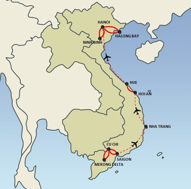 Discovery of Vietnam (18 days)