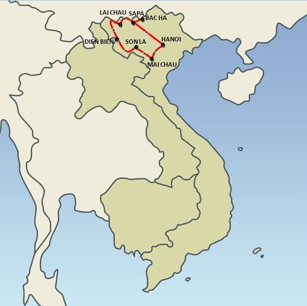 Hilltribes of Northern Vietnam (10 days)
