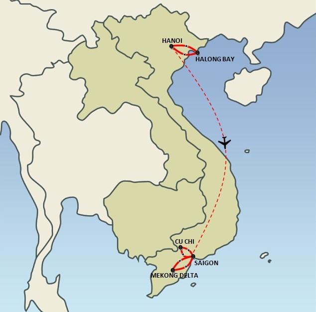 Jetset Vietnam (7 days)