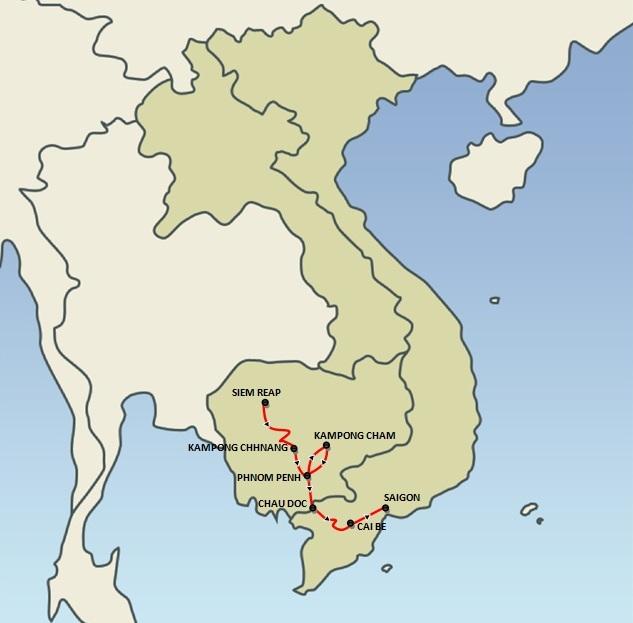 SAIGON | Journey Along the Mekong with Pandaw (8 days)