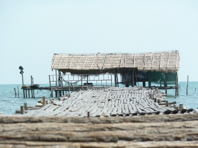 Rabbit Island fishing pier